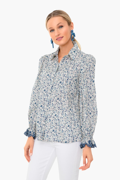 Nora Puff Sleeve Button Down