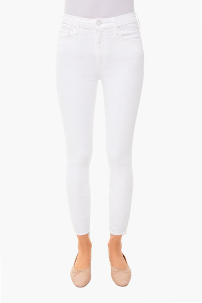 fairest of them all high waisted looker ankle fray