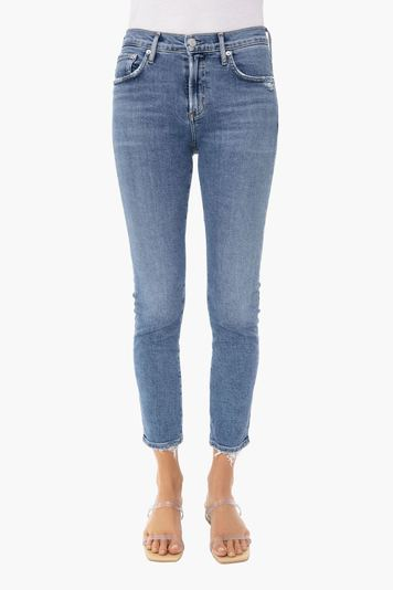 viewpoint toni mid rise straight jean