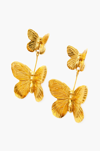 ella butterfly earrings