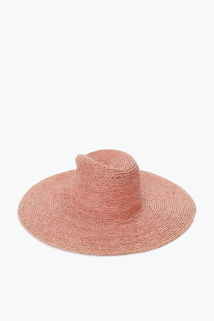 pink rolling tobacco hat