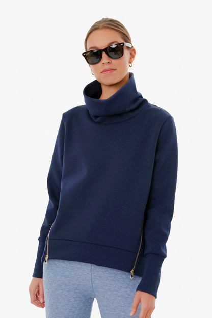 navy everyday pullover