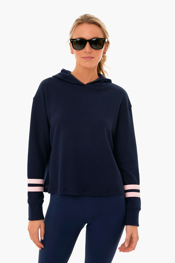 navy thermal pullover