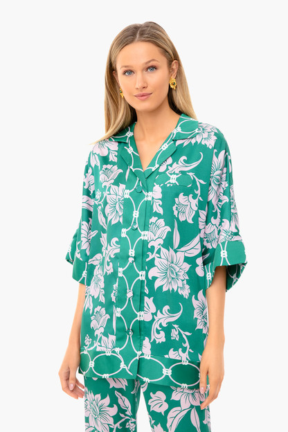 emerald green zumir top