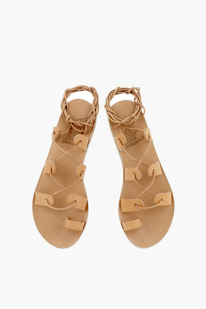 natural alcyone sandals