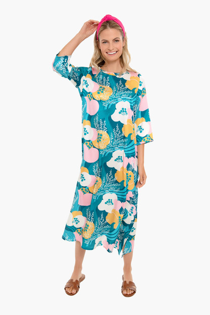riviera floral jamie dress