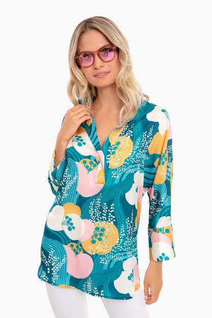 Riviera Floral Willow Blouse