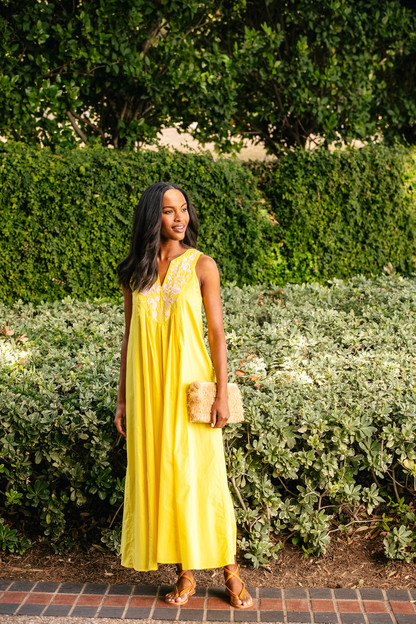 citron cyprus maxi dress