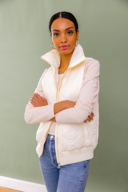 pearl jackson quilted vest