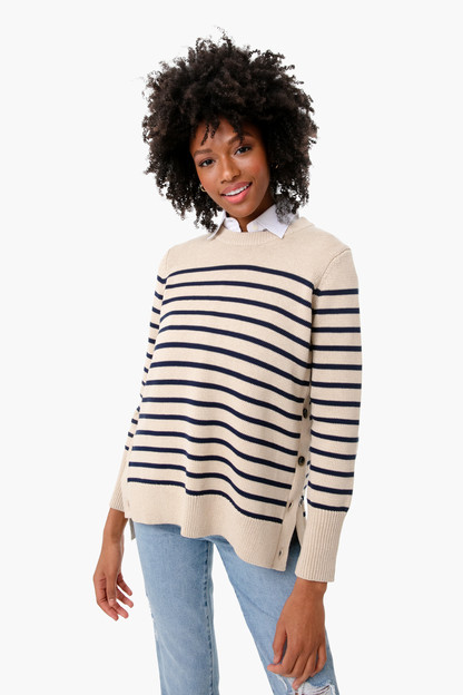 Melange Bar Harbor Striped Sweater