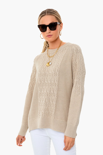 beachwood mixed cable charles sweater