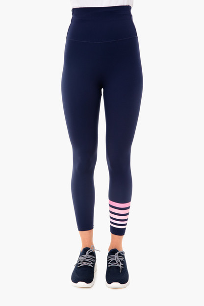 navy and pink everyday legging 2.0