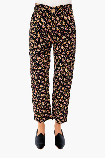 flower corduroy orchard pant