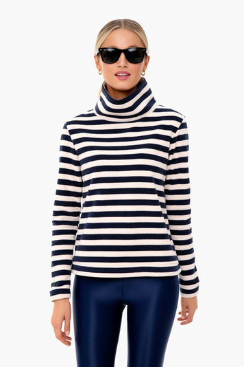 navy french striped park slope