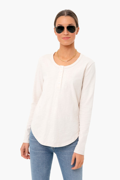 Oat Mercer Henley Top