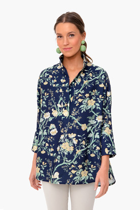 night bloom willow blouse