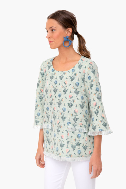 jardin floral london blouse