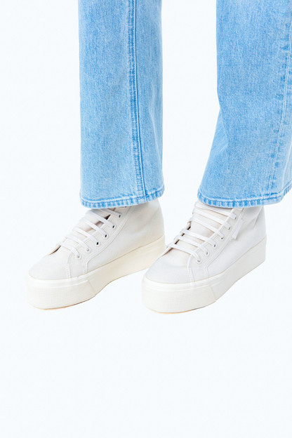 raw high top sneakers
