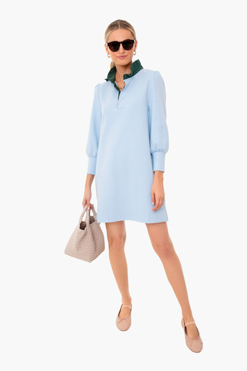 light blue charlotte terry dress