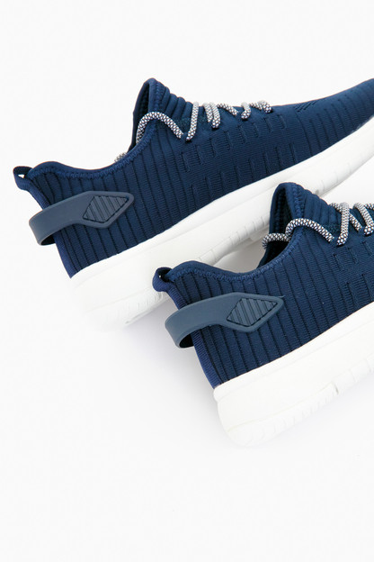 navy waterproof kamie sneakers
