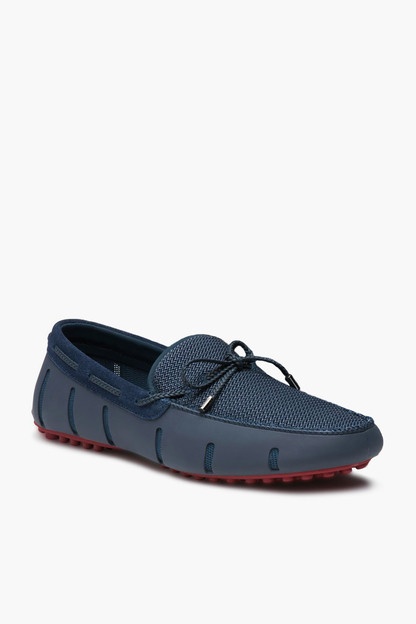 braided lace lux loafer