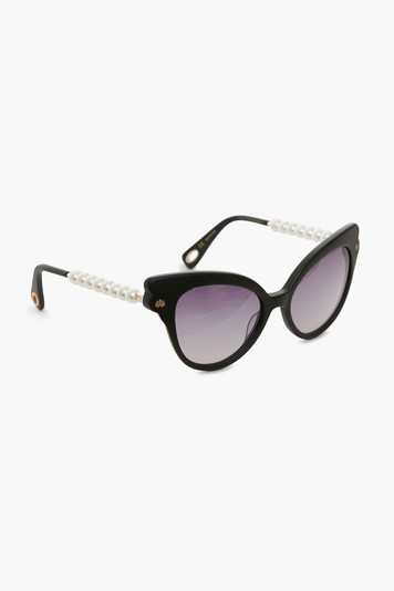 jet chelsea pearl cat eye sunglasses