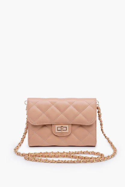 nude wendy quilted bag