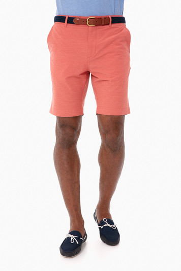 venice red belt loop all day shorts