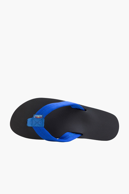 black classic rubber single layer arch support sandal