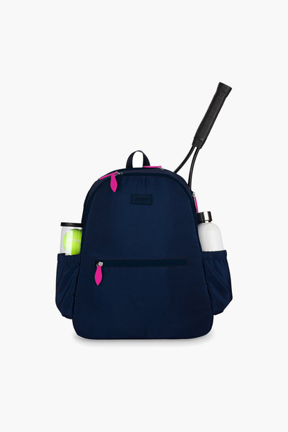 navy courtside tennis backpack