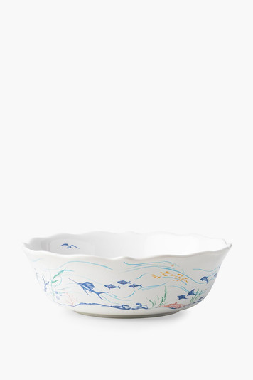 country estate seaside 10 inch serving bowl