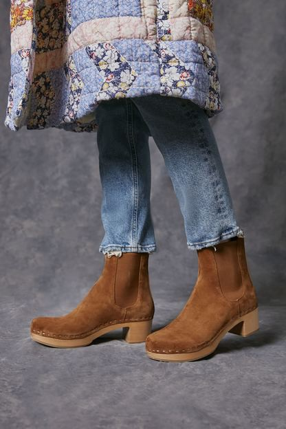 cacao suede anabelle boots