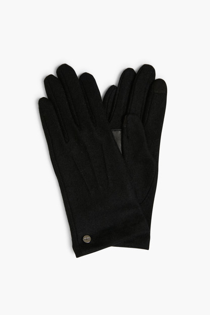 black water repellent classic touch gloves