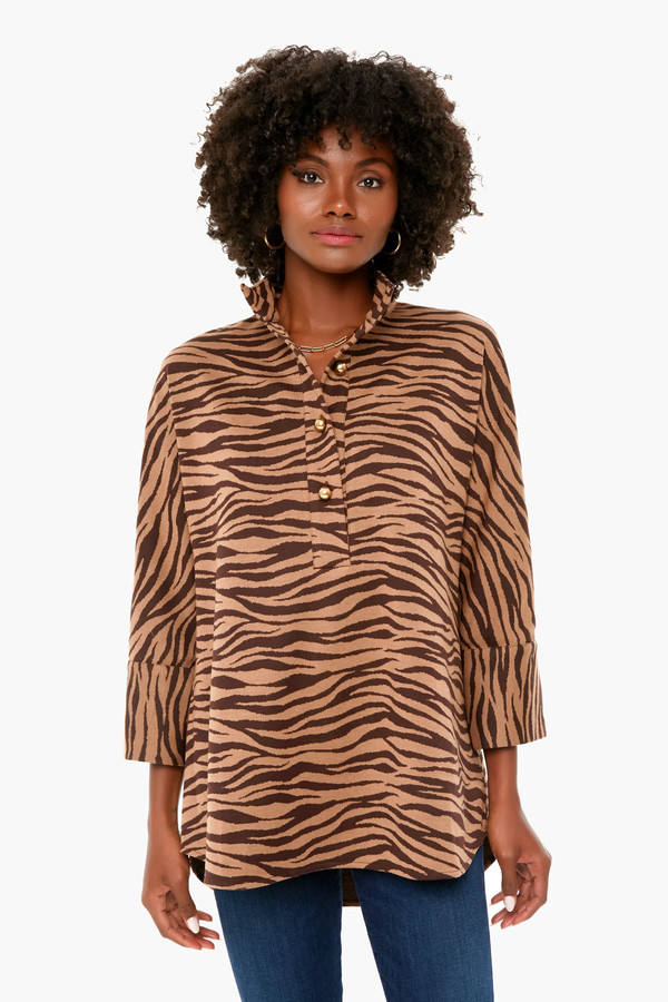 tiger willow blouse