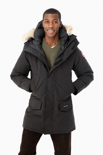 black langford parka