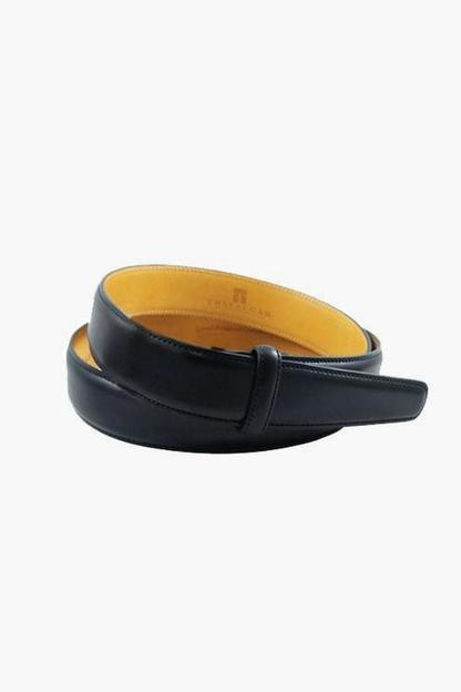 Cortina Leather 1 3/16 inch Black Belt Strap This item ships directly from the vendor within 3 business days.