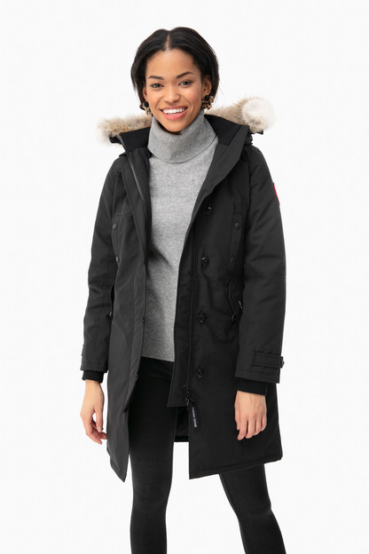 black kensington parka