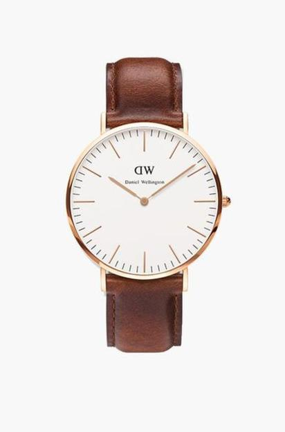 ladies classic st. mawes rose gold watch