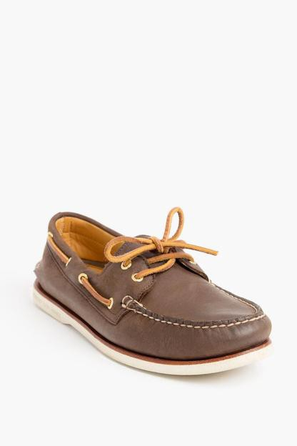 gold cup authentic original 2-eye boat shoes