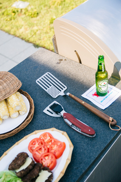 stainless steel star spangled spatula